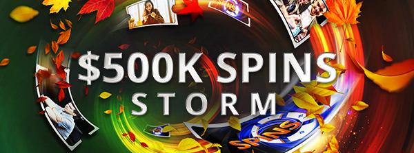 Das allererste SPINS Storm steht an...
