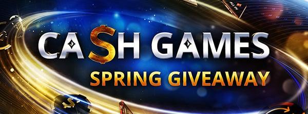 Boostat cashgame-värde i april!